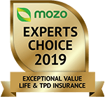 image of Mozo Experts Choice 2019 award badge